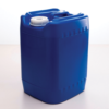PriorityPour Tight Head - Emergency 5 Gallon Water Storage Jug/Container - Blue