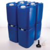 PriorityPour Tight Head - Emergency Water Storage Jug/Container - Blue, 8