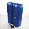PriorityPour Tight Head - Emergency Water Storage Jug/Container - Blue, 4