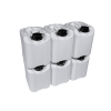 "PriorityPour""Mini"" White 1 gal/5 Liter Portable Tight Head (6)-Pack, Emergency Water Storage Jug/Containers with caps"