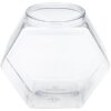 Hexagon Clear 129 oz