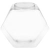 Hexagon Clear 342 oz
