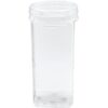 "SQUARE 4"" Clear 84 oz"